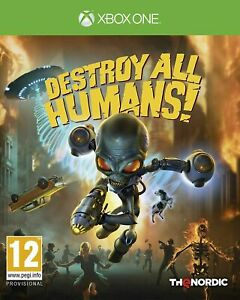 Destroy All Humans! Xbox One Game BRAND NEW SEALED
