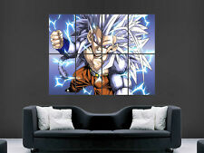 GOKU SAIYAN DRAGON BALL Z JAPANESE MANGA  WALL POSTER ART PICTURE PRINT GIANT