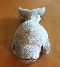 Princess Soft Toys Gray Dolphin Plush 9""