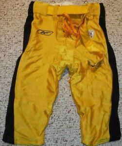 PITTSBURGH STEELERS GAME USED GAME WORN PANTS 2001 REEBOK JOHN FIALA SIZE 36-S