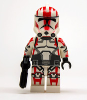 Lego Star Wars Custom Clone Trooper Commander Ganch with Blaster + Scuba Pack