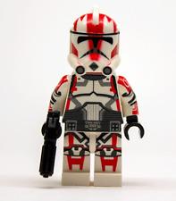 Lego Star Wars Custom Clone Trooper Commander Ganch with Blaster + Scuba Pack