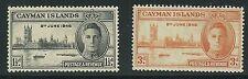 CAYMAN ISLANDS SG#127,128 1946 MLH  VF