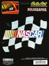 NASCAR Sticker Aufkleber Decal - CHECKERED FLAG - ca. 14 x 11 cm