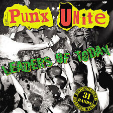 Punx Unite: Leaders of Today CD PUNK COMPILATION CHARGED RECORDS CASUALTIES RARE