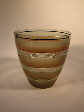 Art Deco,Glas,Vase,WMF,um 1930, sehr seltenes Dekor !