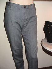 NWT Paper Denim Cloth gray Natalie peg leg jeans pants