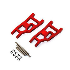 Red Aluminum Front Suspension Arms for Traxxas Slash 2WD # ST3631R A-Arms