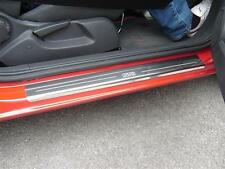 Vauxhall Corsa D (2006 - 2014) SRi Stainless Sill Protectors Kick Plates