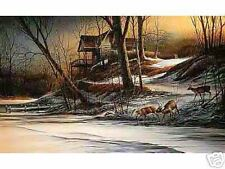 Changing Seasons Winter Terry Redlin Ltd. Ed. Print