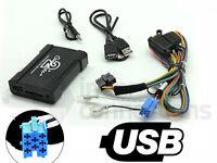 Alfa Romeo 147 USB adapter interface CTAARUSB001 car AUX SD input MP3 3.5mm jack