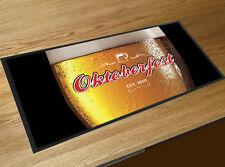 Oktoberfest Germany Beer glass label bar runner Bar mat Events & Pubs