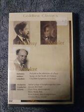 Goldline Classics DVD Musik Klassik Debussy Mahler Schreker OVP Eingeschweißt