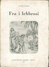 FRA I LEBBROSI - PAOLO ZAPPA