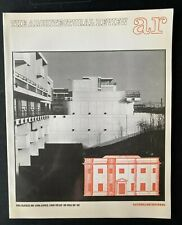 Architectural Review 1034 April 1983 Rationalism: Housing Maiden Lane Oldbrook