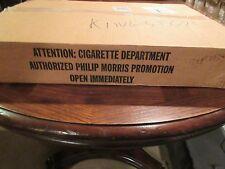 Marlboro Country , 1994 , Philip Morris Display Kit , New In Box , Advertising