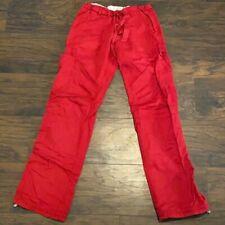 Koi By Kathy Peterson Women's Scrub Cargo Pants Size 2X-Large Red. Comfy!