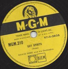 David Rose Orchestra: gay Spirit + American HOE-Down