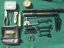 CLASSIC FRANCIS BARNETT MOTORCYCLE VINTAGE TOOLS COMPLETE TOOLKIT