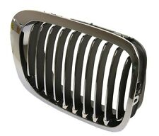 BMW 3 SERIES E46 99-03 COUPE CABRIO FRONT RIGHT GRILLE KIDNEY SILVER BLACK