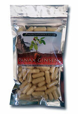 Panax Ginseng (50% Ginsenosides equivalent to 10,000mg ) 30-90 Veg Capsules