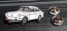 Volkswagen VW pin typ 3 Hatchback 1600 BLANCO - maße 39x19mm
