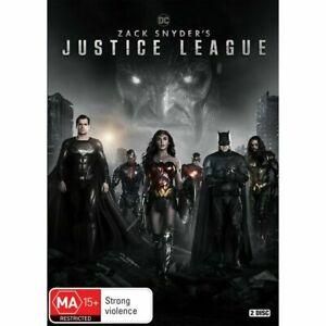 Zack Snyder's Justice League BRAND NEW Region 4 DVD