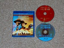 Cowboys & Aliens Blu-ray/DVD Combo 2011 Canadian Daniel Craig Harrison Ford