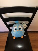 """11"""" Angry Birds Hatchlings Baby Blue Plush Toy Factory Big Stuffed Animal Movie"""