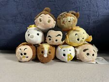 More details for disney tsum tsum beauty & the beast set of 9 plush figures