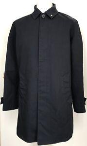 Mens Peter Werth London Mac / Raincoat Navy Blue Lightweight XL  RRP £149