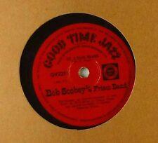 "10"" Schellack - Bob Scobey's Frisco Band - Pretty Baby / St. Louis Blues - A181"