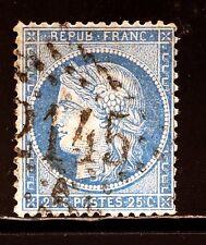 FRANCE  N° 60 2145A LYON, RHÔNE, cachet bien lisible, TRES BEAU