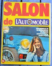 Revue L'Automobile, Salon de l'Auto 1978,