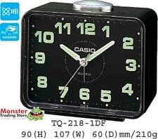 AUSSIE SELLER CASIO ALARM DESK CLOCK TQ-218-1DF TQ218 NEW 12 MONTH WARRANTY