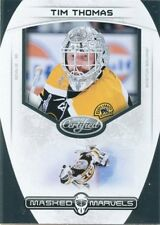 11/12 PANINI CERTIFIED MASKED MARVELS #2 TIM THOMAS BRUINS *49729