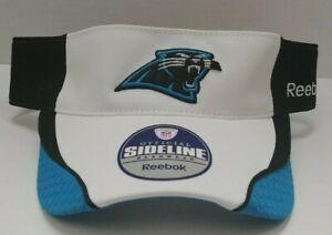 Carolina Panthers Reebok Men's Adjustable Visor Hat Headwear - Free Ship