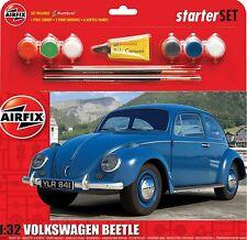 Airfix 1:32 Volkswagon Bettle Medium Starter Set(A55207)