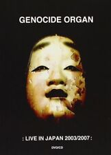 Genocide Organ live In Japan 2003/2007 DVD CD 2009