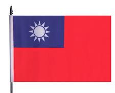 Republic of China (Taiwan) Medium Hand Waving Flag