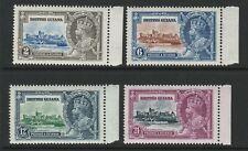 British Guiana 1935 Silver Jubilee set SG 301-304 Mnh.