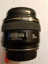 Canon EF 28mm f/1.8 AF USM Lens