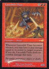 1x Foil - Laccolith Titan - Magic the Gathering MTG Nemesis Foil