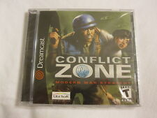 Conflict Zone (Sega Dreamcast) Brand New, Sealed~