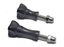 2x Long & Short Thumb Screws with Bolt Cap for GoPro Hero Cameras