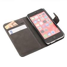 Apple iPhone 5C Handy tasche schwarz case Brieftasche Wallet schutz hülle cover