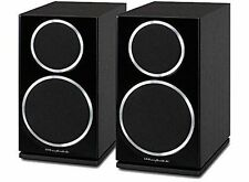 Wharfedale Black Bookshelf Home Speakers and Subwoofers