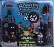 Homies Series #8 - 12 Figures - MINT IN PACK !!!