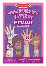 Melissa & Doug - Temporary Tattoos - Metallic MND2948