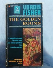 Vardis Fisher THE GOLDEN ROOMS Pyramid 1962 pb